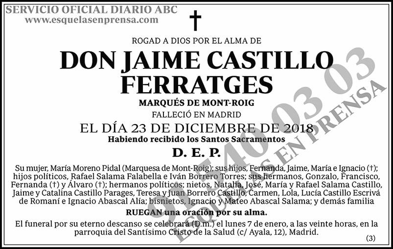 Jaime Castillo Ferratges